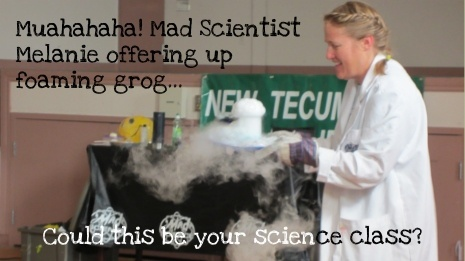 Mad Scientist Melanie