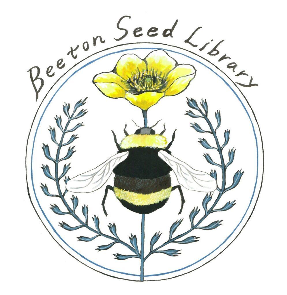 Beeton Seed Library Logo